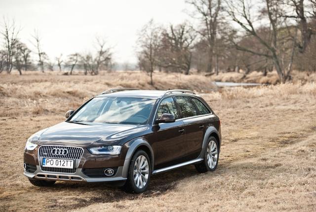 Audi a4 zdj cie audi a4 allroad quattro foto