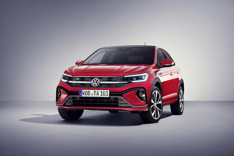 Volkswagen Taigo   Technicznie model Taigo został zbudowany na tej samej platformie co Polo i T-Cross.  Przewidziano wyłącznie silniki benzynowe i napęd na przód.   Fot. Volkswagen
