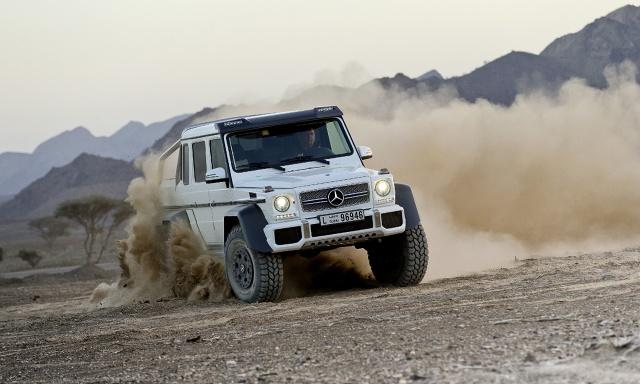 Mercedes-Benz G 63 AMG 6x6, Fot: Mercedes-Benz