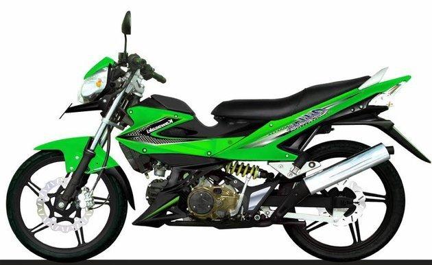 Kawasaki AX 125 Athlete / Fot. Kawasaki