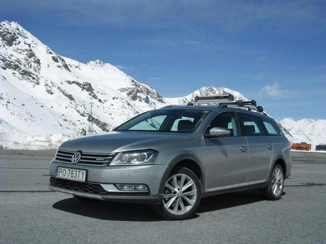 Pierwsza jazda: Volkswagen Passat Alltrack - walka z poślizgiem