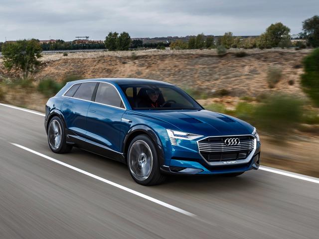Począwszy od roku 2018, Audi Brussels będzie jedyną fabryką produkującą pierwszego, w pełni elektrycznego SUV-a spod znaku czterech pierścieni, przeznaczonego na rynki całego świata. Pojazd studyjny Audi e-tron quattro concept, zaprezentowany na Międzynarodowej Wystawie Motoryzacyjnej IAA 2015, ukazuje wyraźnie, jak będzie wyglądał samochód produkcji seryjnej / Fot. Audi