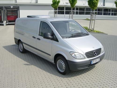 Fot. Mercedes-Benz: Vito zajął pierwsze miejsce w kategorii pojazdów o masie do 3,5 t.