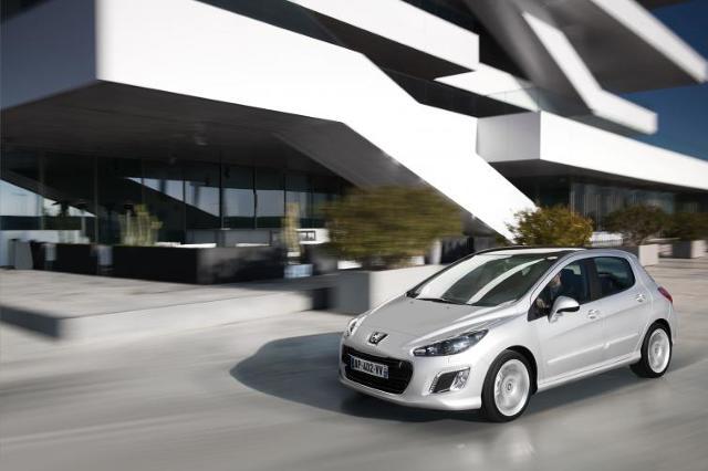 Peugeot 308 po liftingu - zobacz zdjęcia