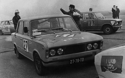 Kochański i Sieczkowski na Rajdzie Barbórki 1976