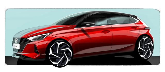 Hyundai i20 został zaprojektowany według języka projektowania o nazwie Sensuous Sportiness. Fot. Hyundai