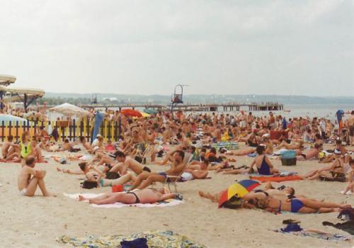 Tego właśnie oczekują turyści nad Bałtykiem – słońca, słońca i słońca. Fot. Archiwum Polskapresse