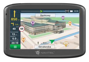 Navitel E505 Magnetic. Test nawigacji GPS