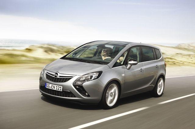 Opel Zafira Tourer, Fot: Opel