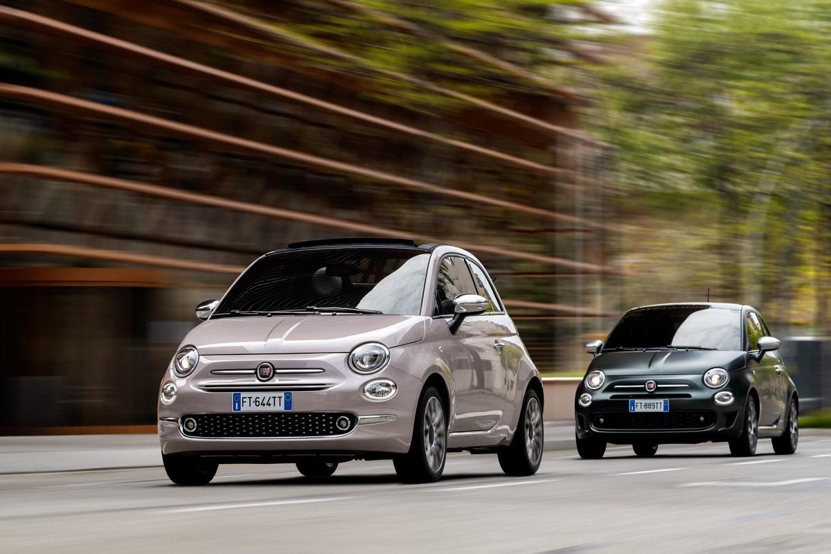 Fiaty 500 Star i Rockstar. Fot. Fiat