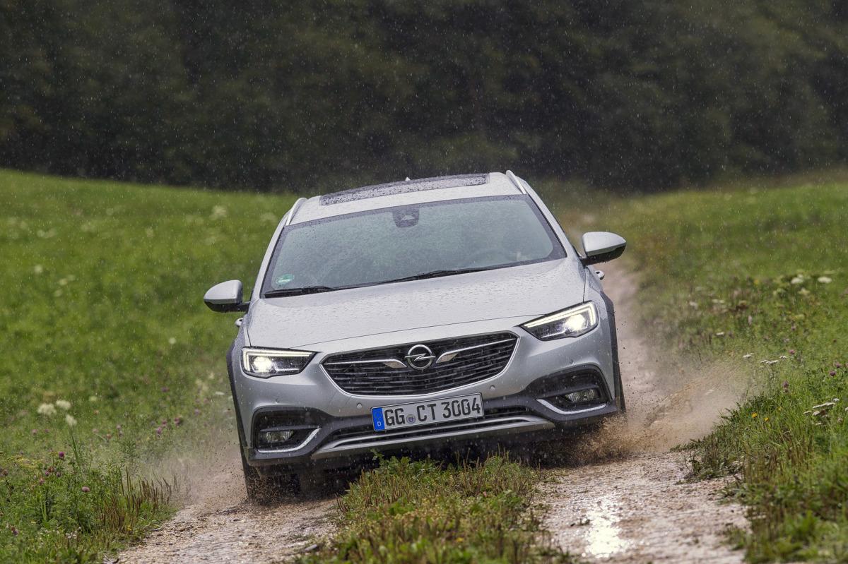Opel Insignia Country Tourer Podwyzszone Kombi Wycenione