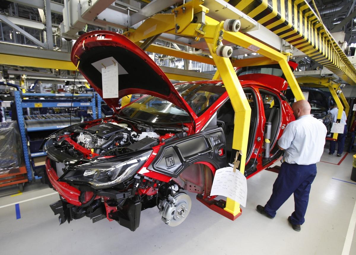 Fabryka Opla w Gliwicach. Fot. Opel