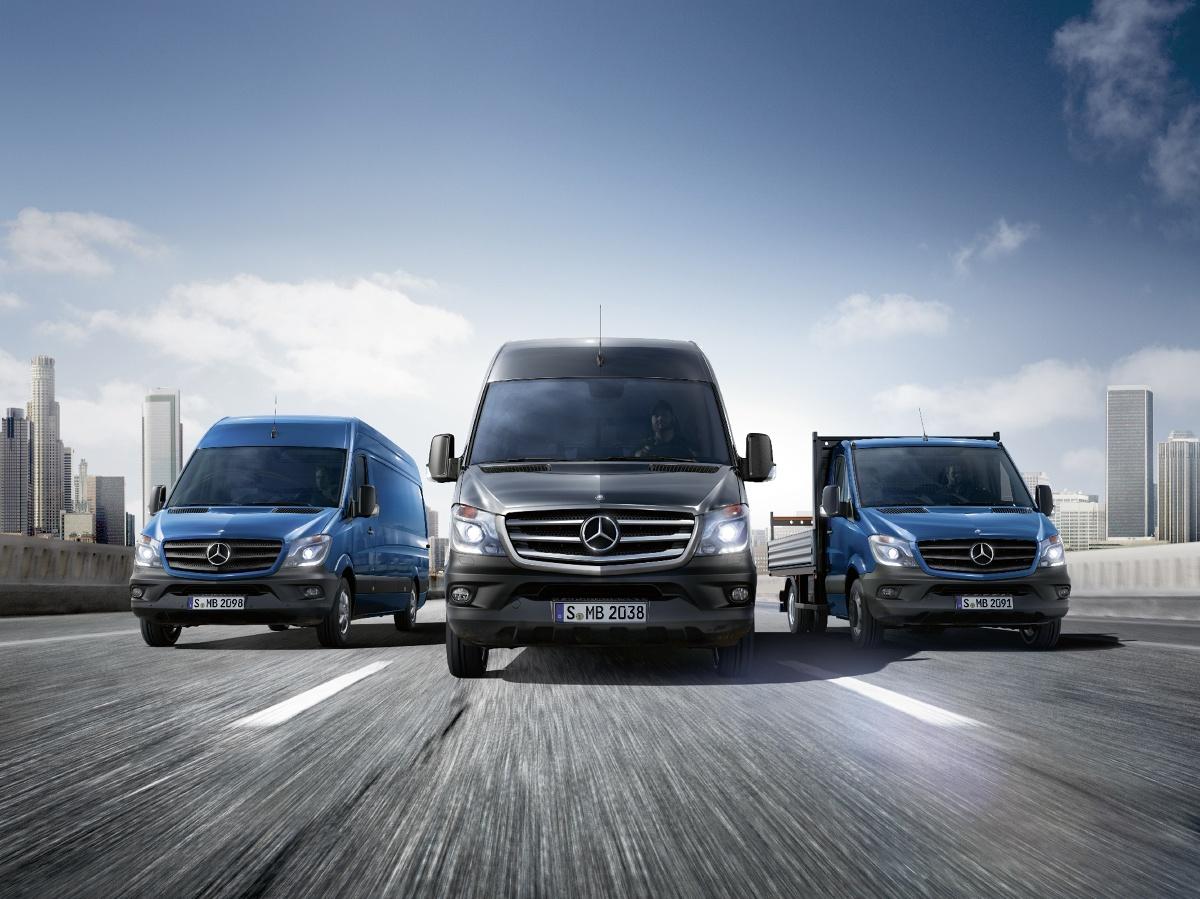 Mercedes-Benz Sprinter, Fot: Mercedes-Benz