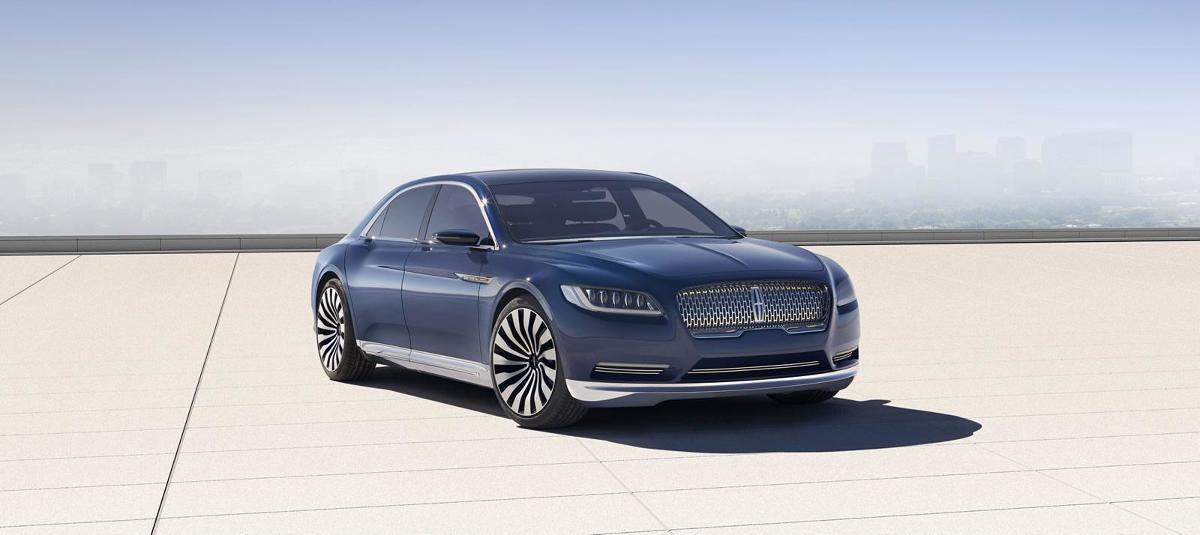Lincoln Continental concept / Fot.  Lincoln Continental