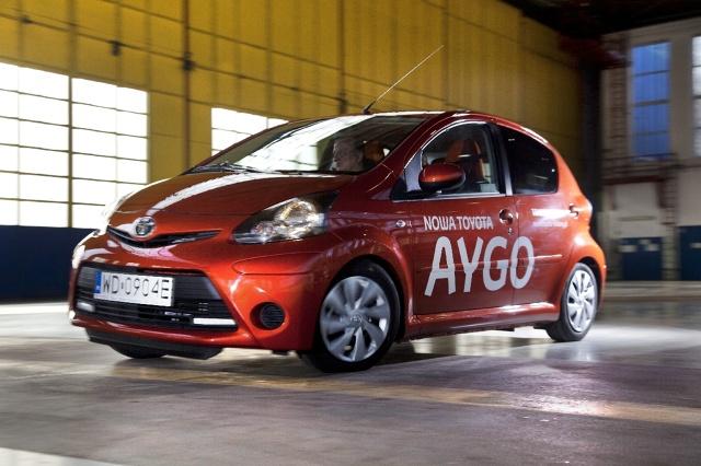 Toyota Aygo, Fot: Tomasz Szmandra