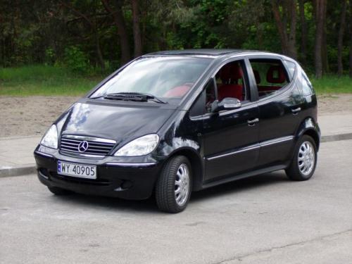 Tylko na zewnątrz Mercedes-Benz klasy A (1997 - 2004) AK82