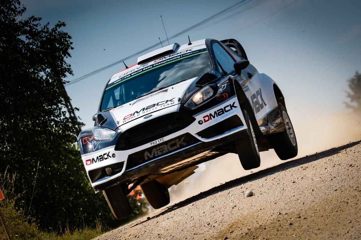 Ott Tanak i Raigo Molder (Ford Fiesta WRC)/Fot. M-Sport
