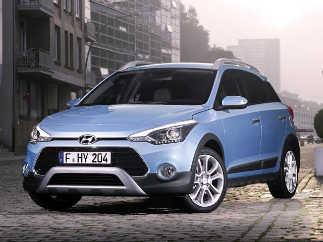 Hyundai i20 Active   Przewidziano jeden silnik wysokoprężny 1.4 CRDi o mocy 90 KM. Wśród jednostek benzynowych do wyboru jest silnik wolnossący 1.4 MPI 100 KM, a także turbodoładowany 3-cylindrowy 1.0 T-GDI o mocy 100 lub 120 KM.  Fot. Hyundai