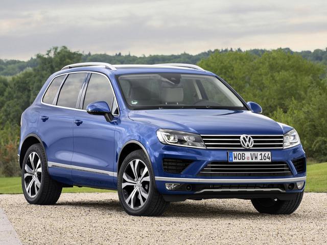 VW Touareg / Fot. Volkswagen