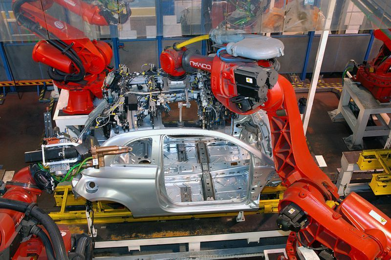 Produkcja Fiata 500 w Tychach, fot. Fiat Auto Poland