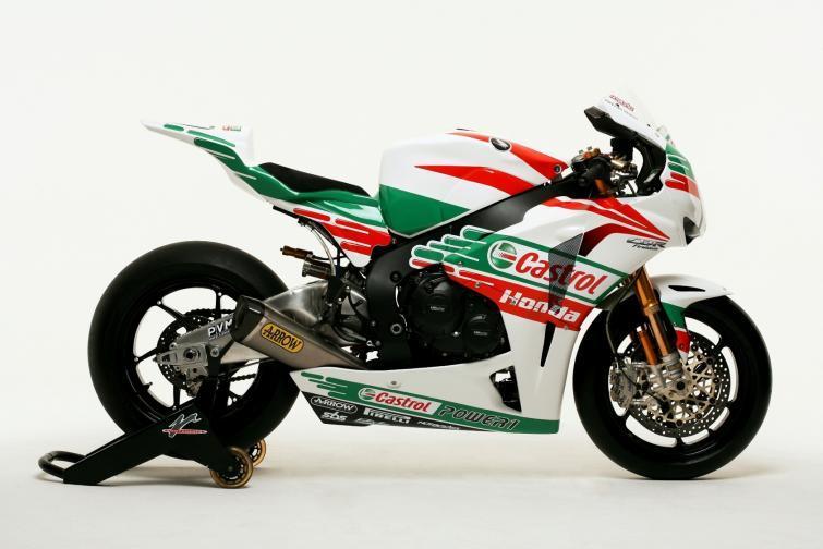 Powrót legendarnych barw Castrol Honda w World Superbike