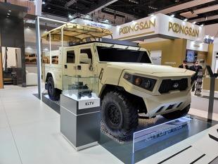 Kia. Koreańczycy pokazują pojazd wojskowy nowej generacji
