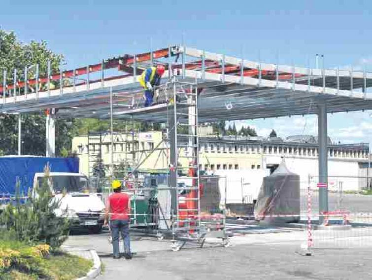 Przebudowa stacji w Szczecinku. Dobra wiadomość dla kierowców