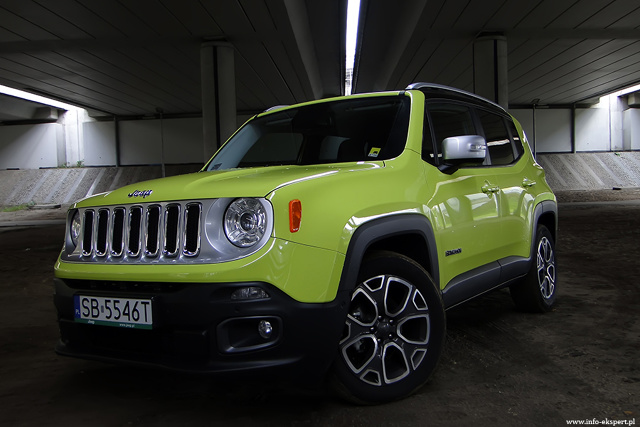 jeep renegade 1 4 limited test suv a kt ry wypraw w teren si nie boi. Black Bedroom Furniture Sets. Home Design Ideas