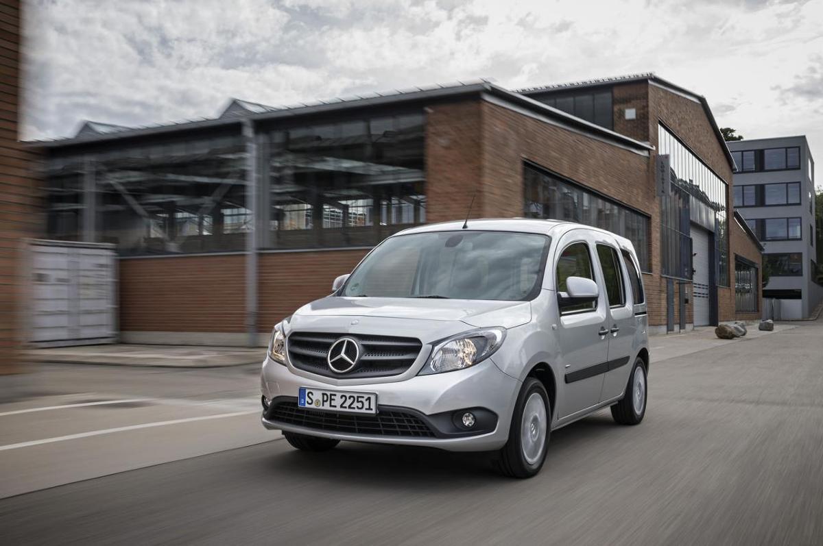 Mercedes Citan Crewbus / Fot. Mercedes-Benz