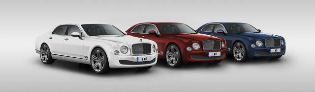 Bentley Mulsanne 95 Fot: Bentley