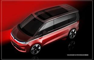 Volkswagen Multivan. Tak ma wyglądać nowość. Zobacz szkic