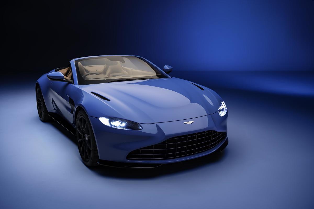 Jak informuje producent, nadwozie zostało starannie dopracowane pod względem aerodynamicznym. To samo dotyczy podwozia. Fot. Aston Martin