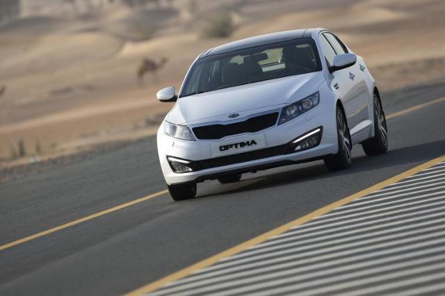 Kia Optima Hybrid: ekodynamika