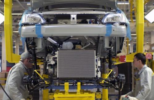 Fot. Renault: Rocznie w moskiewskiej fabryce Avtoframos powstawać ma 60 tys. egzemplarzy Renault Logan.