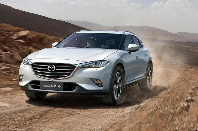 Mazda CX-4   Auto do sprzedaży trafi w Chinach już w czerwcu. Japończycy nie wykluczają wprowadzenie modelu CX-4 na pozostałe rynki, ale nie jest pewne kiedy to nastąpi.  Fot. Mazda
