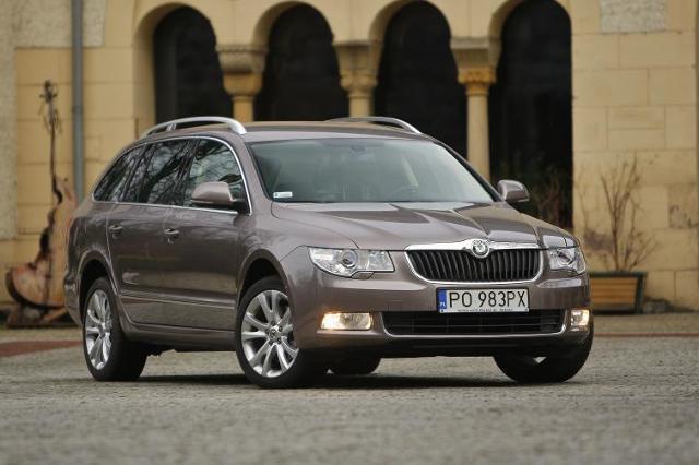 Skoda Superb najlepszym samochodem kombi 2011 roku