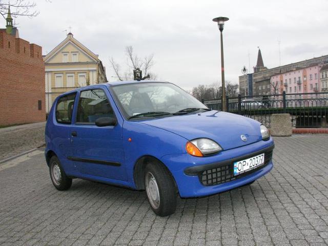 Testujemy używane: Fiat Seicento, auto dla początkującego kierowcy (zdjęcia, film)