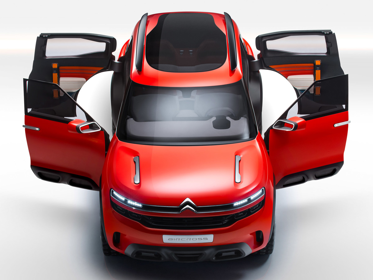 Citroen Aircross Concept / Fot. Citroen