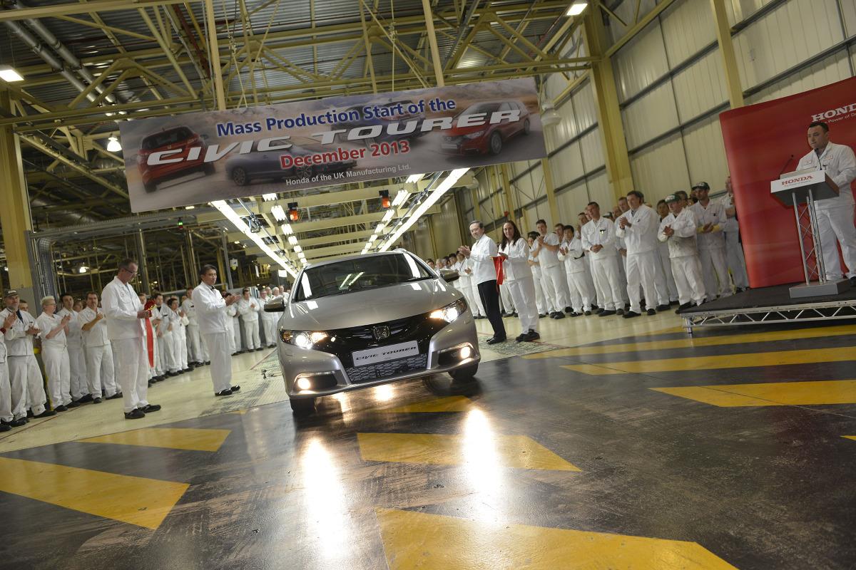 Honda Civic Tourer - produkcja  Fot: Honda