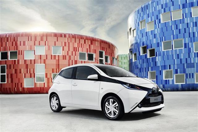 Toyota Aygo, Fot: Toyota