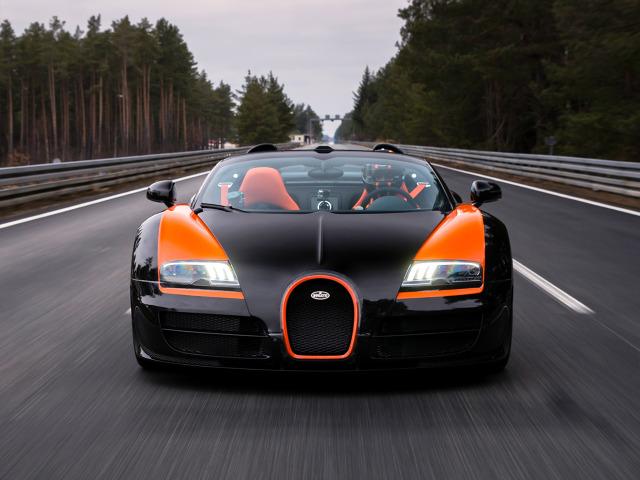 zdjęcie Bugatti Veyron Grand Sport Vitesse World Record Car