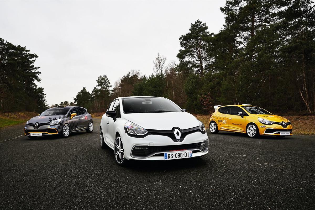 Pod maską Renault Clio RS 220 Trophy pracuje turbodoładowany silnik benzynowy o pojemności 1.6 l. Jednostka dostarcza 220 KM przy 6050 obr/min i 260 Nm maksymalneo momentu obrotowego / Fot. Renault