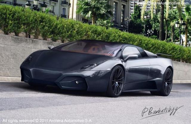 Superauto Arrinera - zobacz zdjęcia polskiego Lamborghini