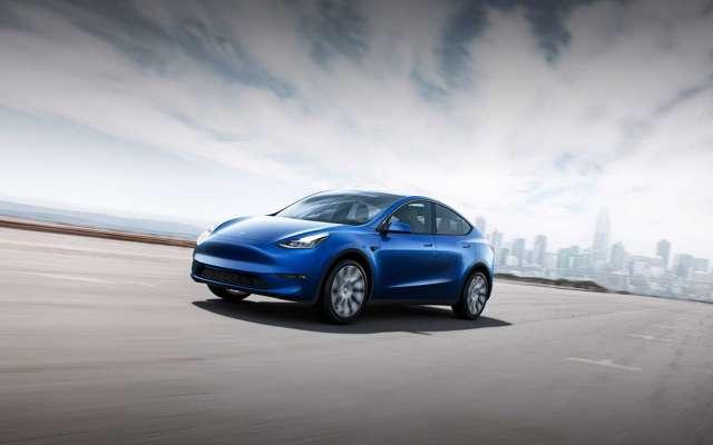 zdjęcie Tesla Model Y