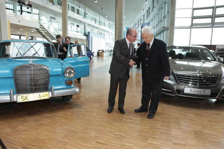 Mercedes W110 od 45 lat ma jednego, polskiego właściciela