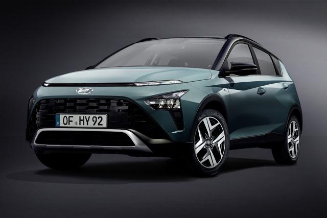 Hyundai Bayon   Hyundai zaprezentował model BAYON, całkowicie nowego SUV-a segmentu B, zaprojektowanego specjalnie dla Europy. BAYON będzie najnowszym i najmniejszym członkiem powiększającej się rodziny SUV-ów Hyundai.  Fot. Hyundai
