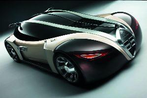 "Fot. Peugeot/Design Contest: Zwycięski projekt Stefana Schulze z roku 2002 nazwany ""4002"""