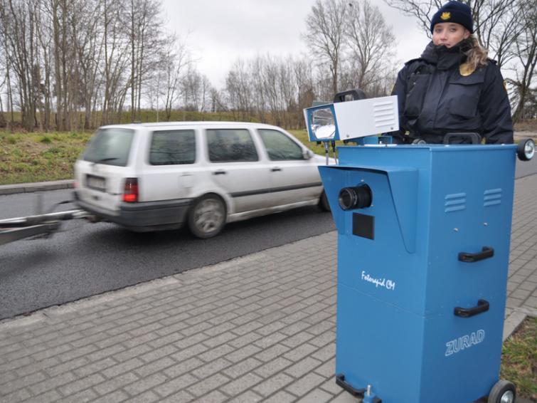 Nowy fotoradar Straży Miejskiej na ulicach Szczecinka