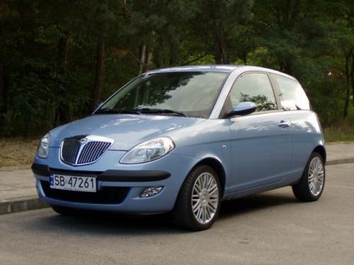 Fot. R. Polit:  Lancia Ypsilon zwraca uwagę swoim wyglądem. Zauważyliśmy, że najbardziej podoba się paniom.