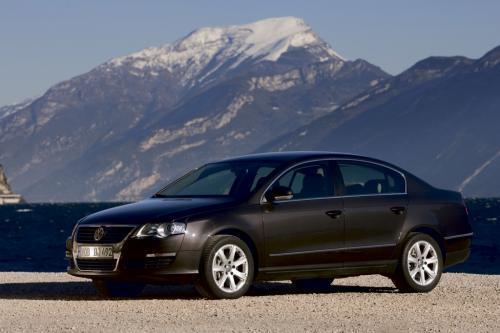 Passat szóstej generacji powstał na zupełnie nowej płycie podłogowej, Fot: Volkswagen